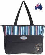 Nappy Changing Diaper Bag Waterproof Liner Mummy Shoulder Travel Bag-Dark Blue