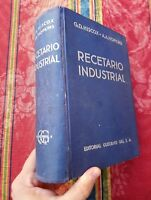 1953 Hiscox -Hopkins Recetario industrial enciclopedia de fórmulas secretos ....