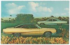 1968 Buick LeSABRE 4 Dr SEDAN & HARDTOP Dealer Promotional NOS Postcard UNUSED