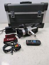 00004000 Canon Gl1 Digital Video Camcorder w/ Professional Hard Case Remote & Cables