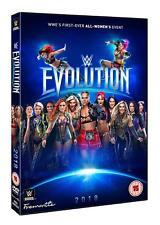 WWE Evolution 2018 [2x DVD] *NEU* Deutsch Deutscher Kommentar Charlotte vs Becky
