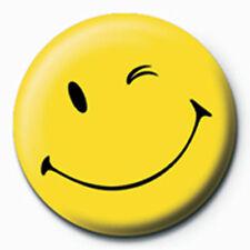 Smiley - Wink - Ansteck Button Ø2,5 cm