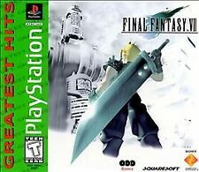 Final Fantasy VII (Sony PlayStation 1, 1997) 7 ps1 psone one