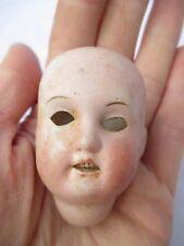 Petites poupées en porcelaine tête vintage old antique c1910