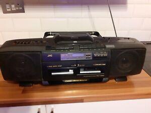 JVC RC-X510 Hyper Bass Sound CD/Tape/Radio Player
