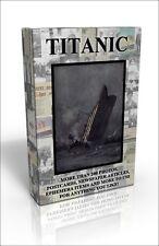 Titanic Scrapbook - more than 200 public domain photos, postcards & more on DVD