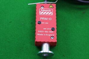 Edwards PRM 10 Vacuum Gauge Probe D021-66-000 Lab UHV