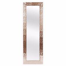 """Full-Length Mirror Over-the-Door Mirror Sequin Rectangular Design 53""""x17"""" New"""