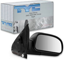 NEW LEFT SIDE POWER DOOR MIRROR BLACK FITS 2002-2009 GMC ENVOY GM1320265