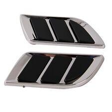 Car Decorative Air Flow Hood Fender Side Vent Cover Decoration Decor Universal