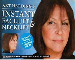 ANTI AGEING ANTI WRINKLE INSTANT  FACELIFT NECK LIFT TAPES  ART HARDING U K