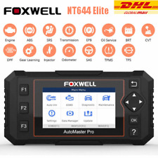 Foxwell NT644 Elite All System Car OBD2 Scanner Diagnostic Tool DPF TPMS IMMO