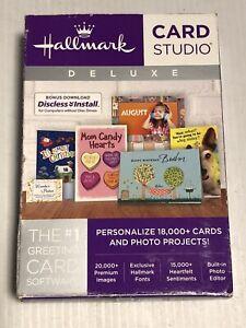 Hallmark Card Studio Deluxe Compatible With Windows 7/8/10 *NEW*