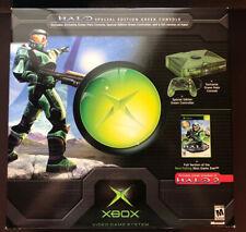 HALO Limited Edition (Green) ORIGINAL XBOX CONSOLE [MICROSOFT] Open Box