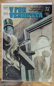 V For Vendetta #6 DC Comic Alan Moore David Lloyd