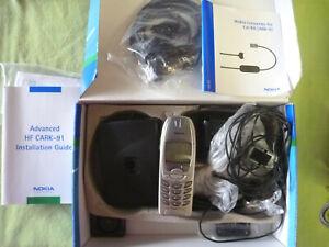 Nokia Advanced CAR KIT  Freisprecheinrichtung Kabeln Mikrofon