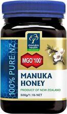 2x MGO 100+ 500 g Manuka Honey New Zealand Manuka Health