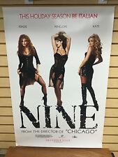 NINE Movie Poster 27x40 One Sheet Sexy FERGIE Penelope Cruz KATE HUDSON