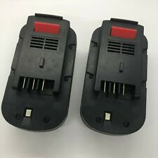 Powerextra Battery HPB18 for: FIRBD18PSK rechargeable Black and Decker