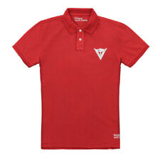 Dainese Motorcycle Men's Polo Shirt 13 Casual Clothing Size M Red
