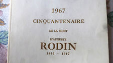 RODIN Exhibition. Vintage Catalog from Montreal Show, with Nazi Art Connection!