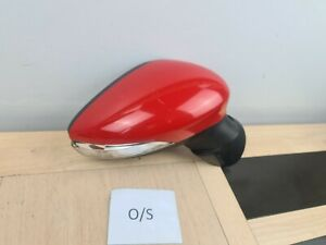 2008 Ford Fiesta Mk7 Mk7 Power Folding Wing Mirror Right Drivers Side O/S red