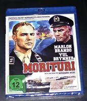 Morituri Con Marlon Brando / Yul Bynner blu ray Spedizione più Veloce Nuovo &