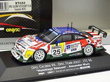 Onyx 1/43 - Opel Calibra V6 Team Joest ITC 1996 Wurz Hutchinson Telecom