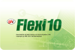 Flexi Software Version 10.5  Sign Cutting Software + Dongle