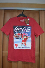Coca Cola Christmas Truck Santa T-Shirt Holidays Are Coming XL 112-117cm 44-46in