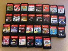 Nintendo Switch Games to Choose From