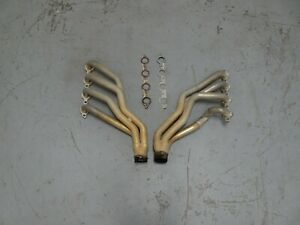 2004 2005 2006 Pontiac GTO SLP 1 3/4'' Long Tube Headers LS1 LS3 Gaskets Sensors