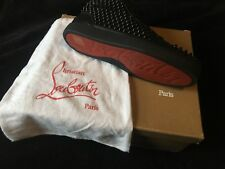 Christian Louboutin Mens Spikes High Top Trainers Black - Size 8/EU 42