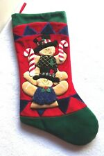 Prima Creation Christmas Stocking Gingerbread Men