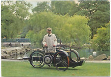 Coventry Motette Motor Tandem Tricycle 1898 Modern Colour Museum card