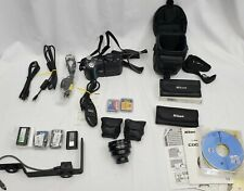 Nikon Coolpix 4500 4MP Digital Camera 4x Optical Zoom - HUGE BUNDLE w/ LENSES