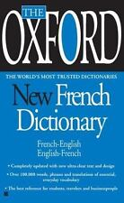 The Oxford New French Dictionary Oxford University Press Mass Market Paperback