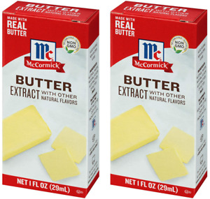 McCormick Butter Extract (2 Bottle Pack)