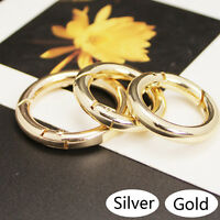 Metal Snap Clip Trigger Spring O Ring Key Chain Buckle Handbag Decor Accessories