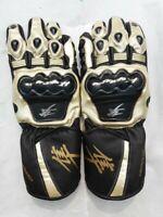SUZUKI HAYABUSA Motorbike Leather Glove ( XS , S , M , L , XL ,  2XL )
