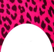 20 water slide nail art transfers dark pink leopard print french tip trending
