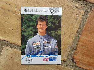 Original Autogramm Michael Schumacher