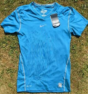 BNWT Mens Nike Pro Combat Dri-Fit Short Sleeve Baselayer Compression T-shirt XL