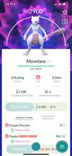 Pokémon Go Compte - Account + Mewtwo High PC !!!!