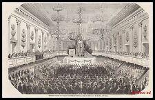 GRAVURE VIENNE -  CONGRES SCIENTIFIQUE MEDICAL   1856 -1H