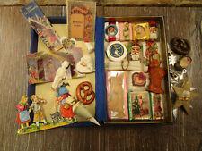 +VINTAGE+ German dollhouse miniature toys / christmas decoration / ornaments