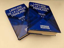 Lexis , Larousse de la Langue Française , 2 Volumes 1977