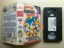 ADVENTURES OF SONIC THE HEDGEHOG 3 - TOO TALL TAILS - VHS VIDEO