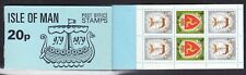 Isle of Man  1979 -  20p Booklet Complete Arms