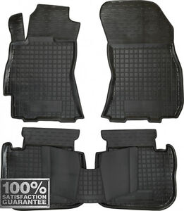Rubber Carmats for Subaru Legacy 2009-14 All Weather Fully Tailored Floor Mats